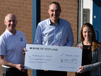 Seatronics & J2 Subsea Raise nearly £3000 for Befriend a Child